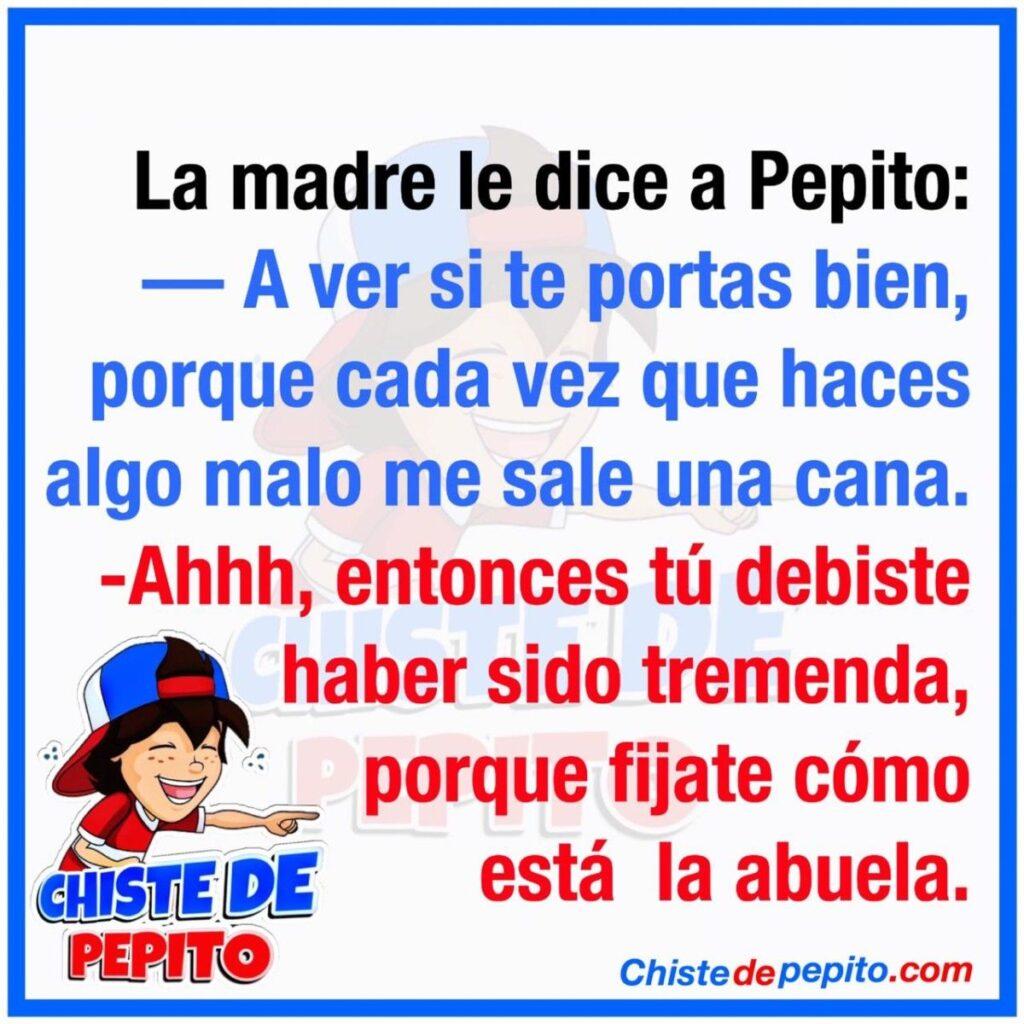 A ver si te portas bien Pepito