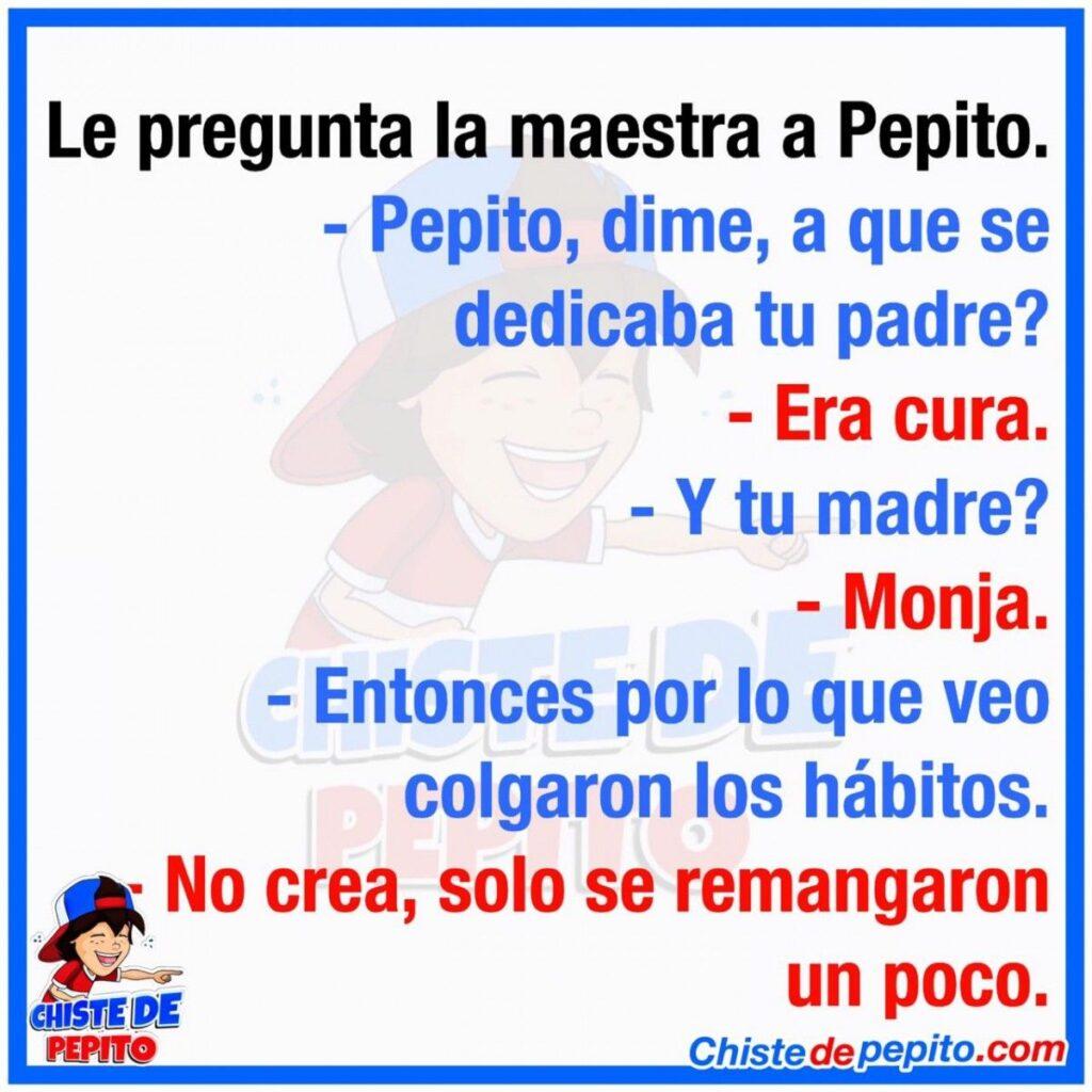 A que se dedican los padres de Pepito