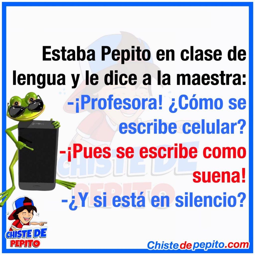 Pepito en clase de lengua