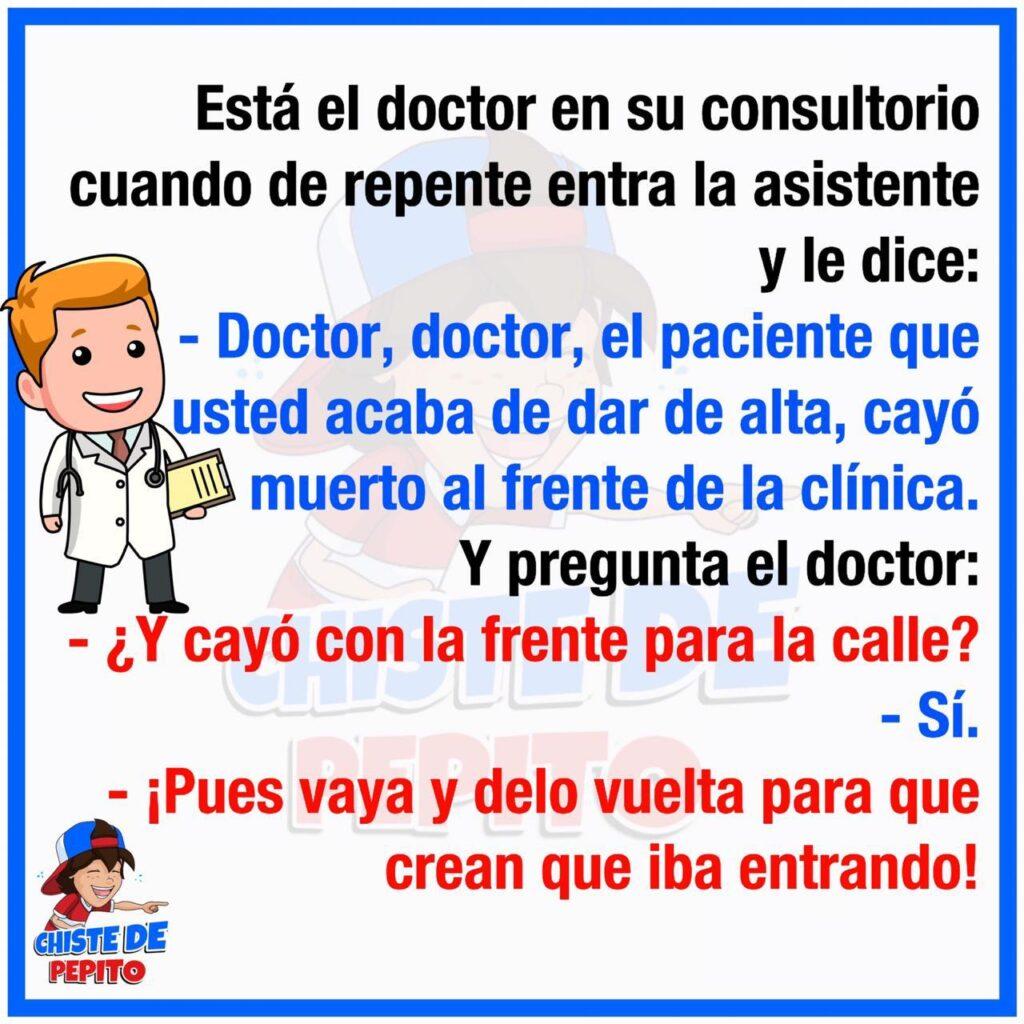 El doctor en su consultorio